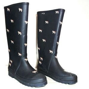 J. Crew Shoes - J. Crew Sherpa-lined Wellies Rain Boots